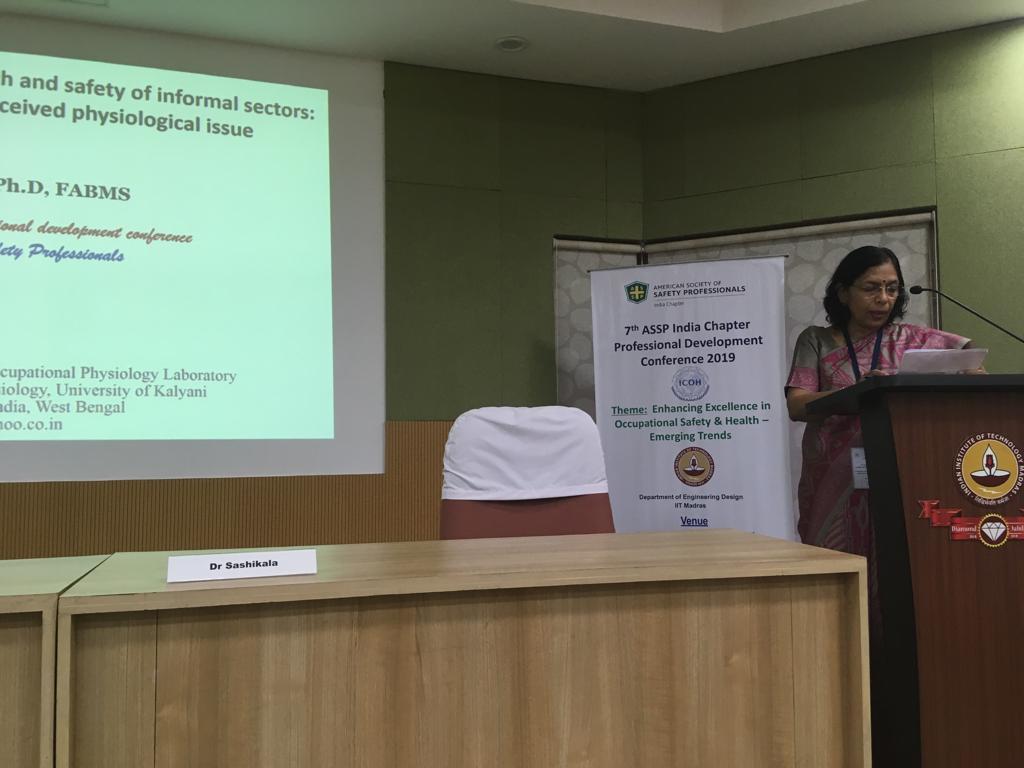 ASSP India & ICOH SCs Professional Development Conference, 27 – 28